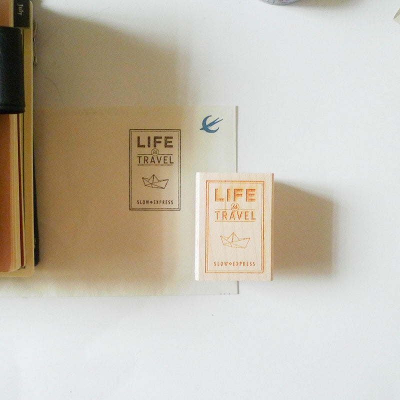 BK: Stamp - Life is Travel
