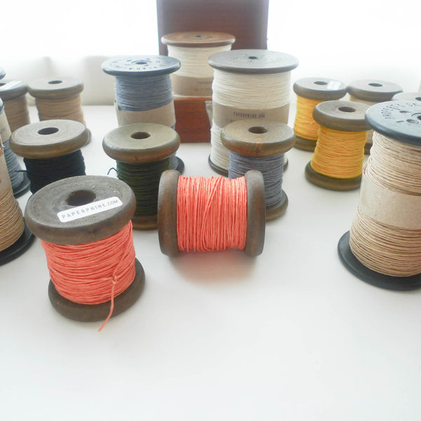 PaperPhine: Strong Paper Twine (Small Bobbins) - Coral