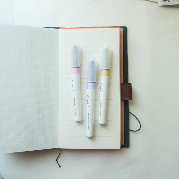 Kokuyo: Mark+ Dual Colour Highlighter (Wa)