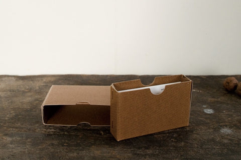 Classiky: Wax Paper Box (Slide-In Type)