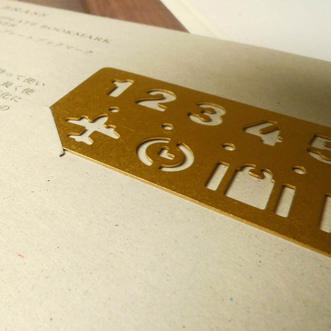 Brass Template Bookmark