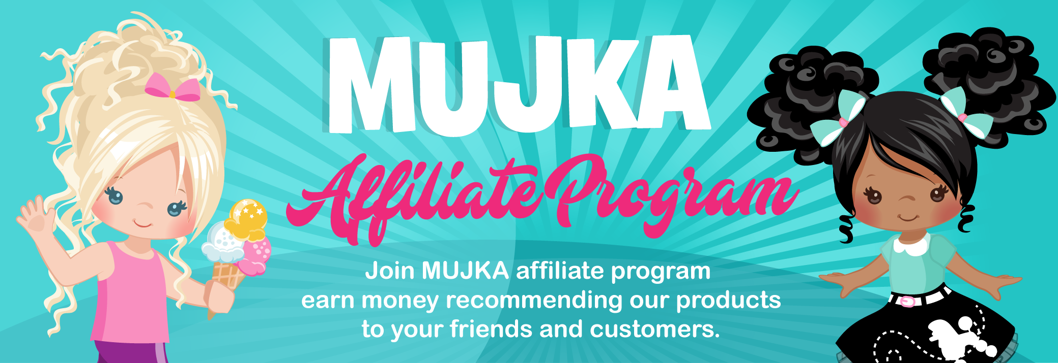 Mujka Cliparts Affiliation program