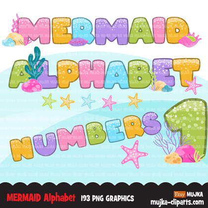 Alphabet Clipart Bundle, Christmas, monsters,  rainbow, baby boy and girl, candy, plaid, stitched letters, numbers, PNG clip art