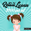 Retail License for Mujka Chic Digital Download Products