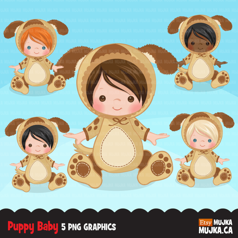 Baby animal outfits Bundle, baby shower, first birthday props, sublimation graphics commercial use PNG clip art