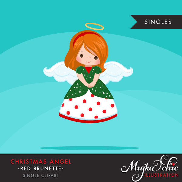 Christmas Angel Clipart, girl religious