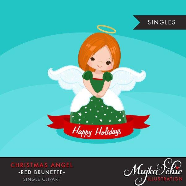 Christmas Angel Clipart 2, Girl religious