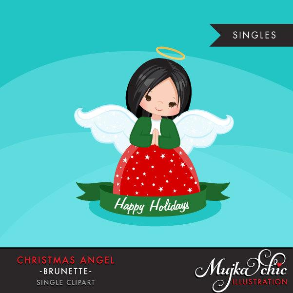 Christmas Angel Girl Clipart religious