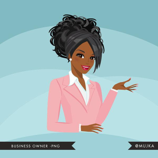 Black Business Avatar Design