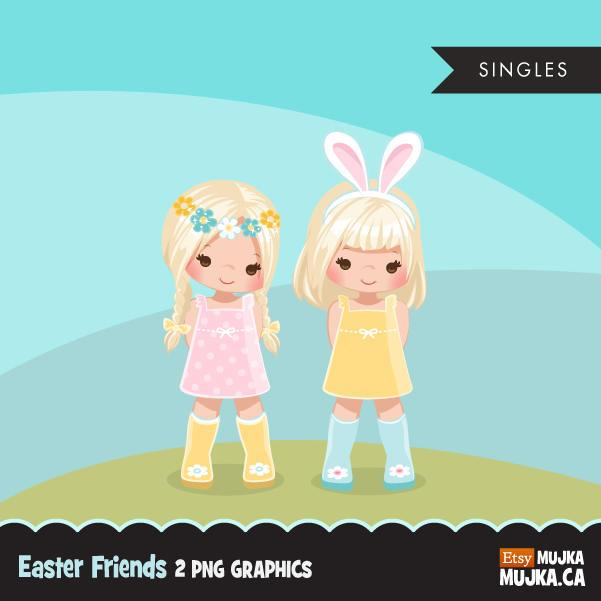 Easter spring clipart