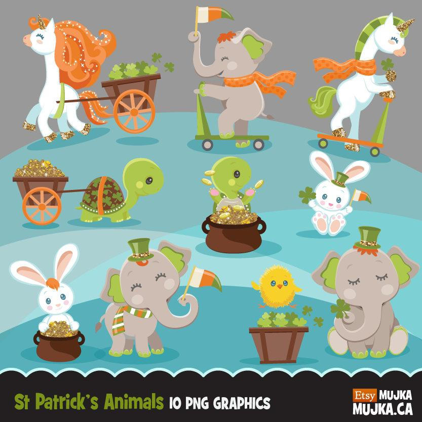 St Patricks Day Animals