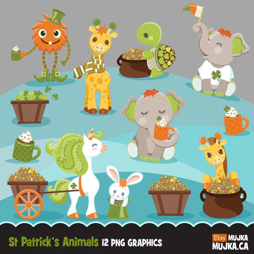 St Patrick's Day Animals