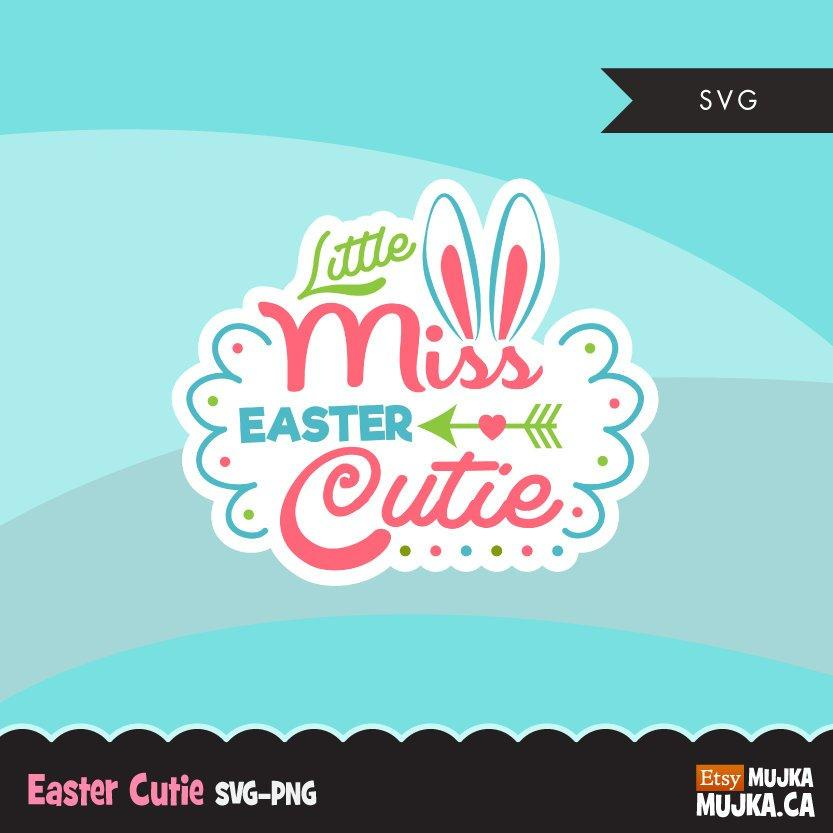 Easter SVG cutting file