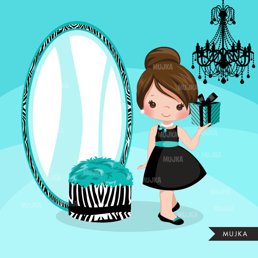 Tiffany Girls clipart
