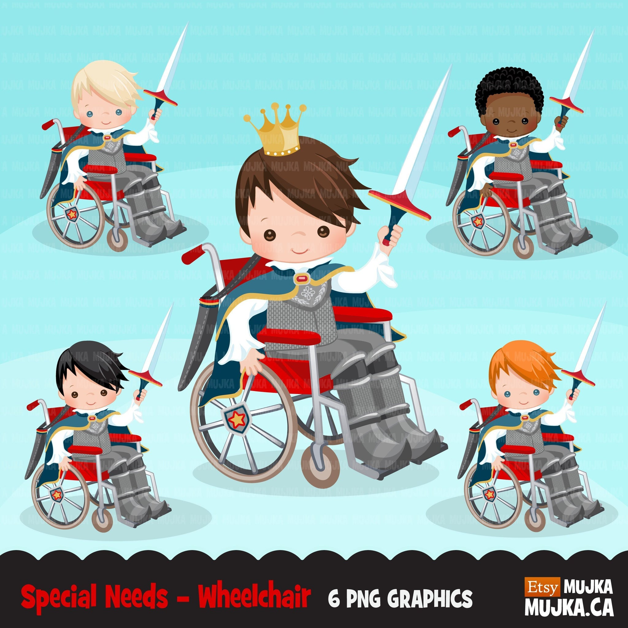 Special Needs Boy Wheelchair clipart