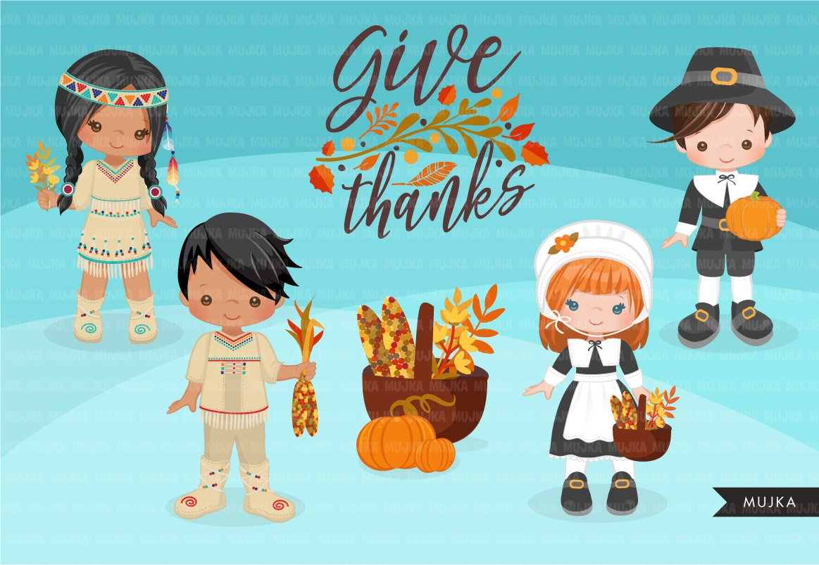 Thanksgiving Clipart, fall