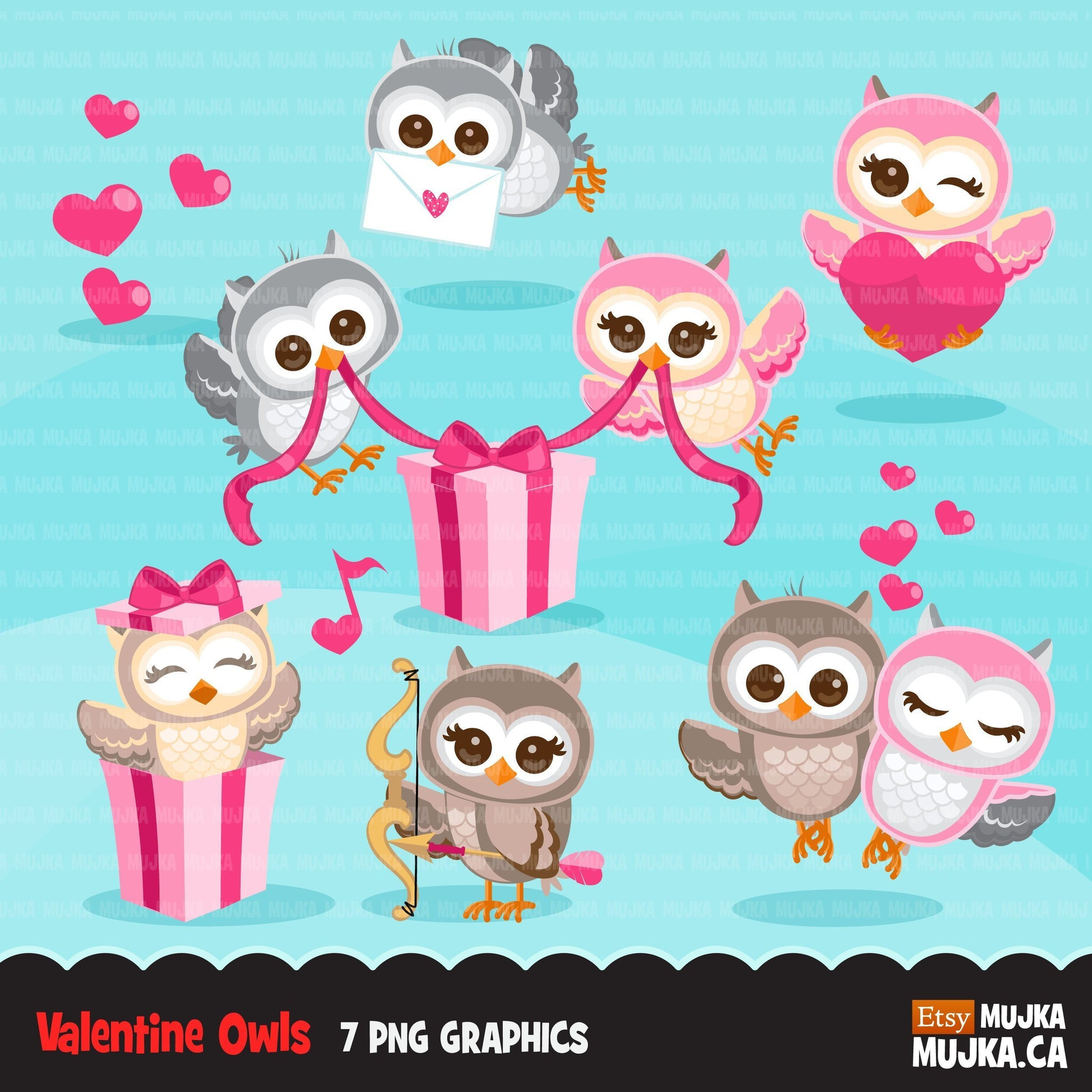 Free Valentine's Owl Cliparts, Download Free Clip Art, Free Clip Art on  Clipart Library