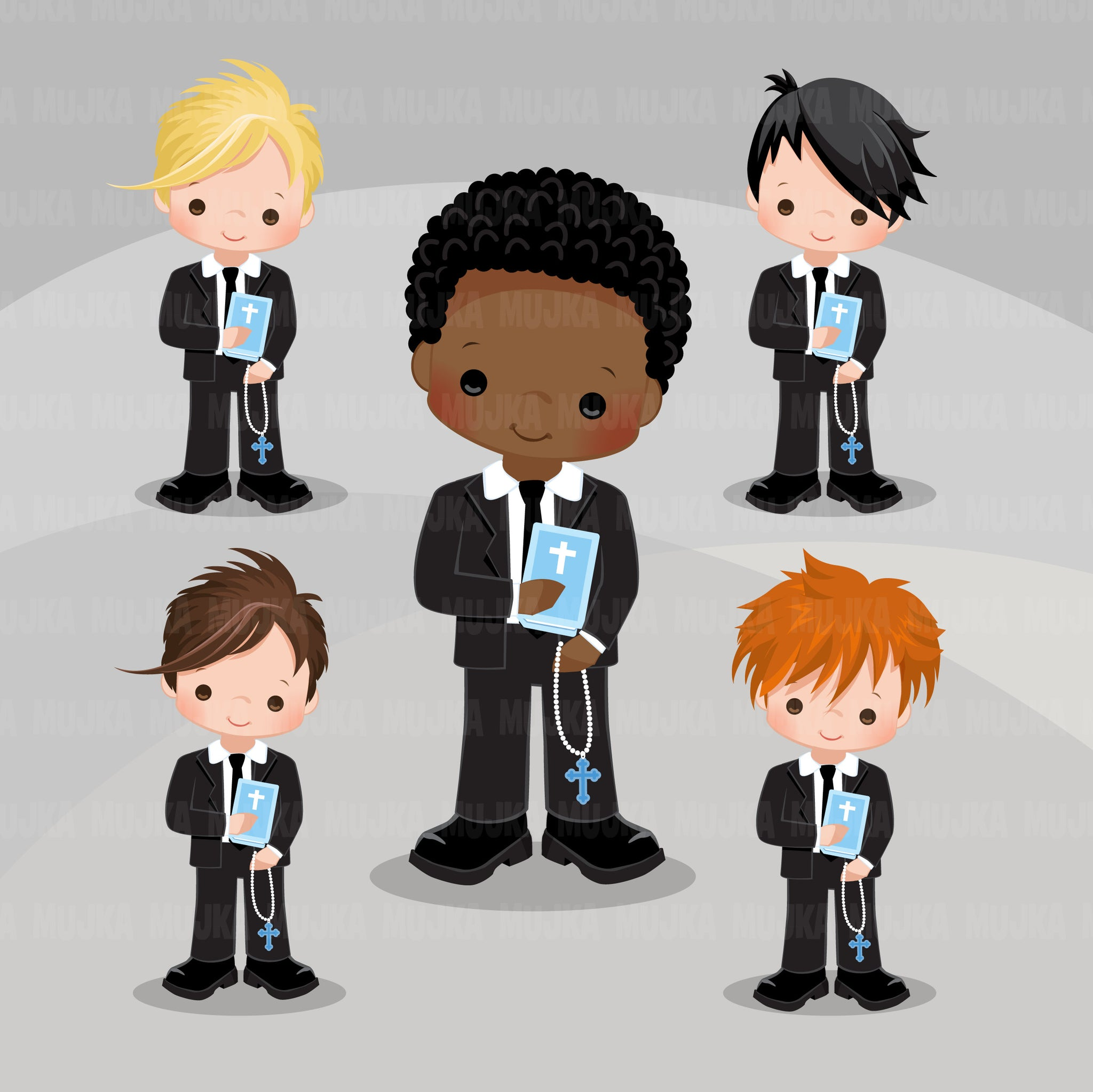 First Communion Clipart for Boys religious