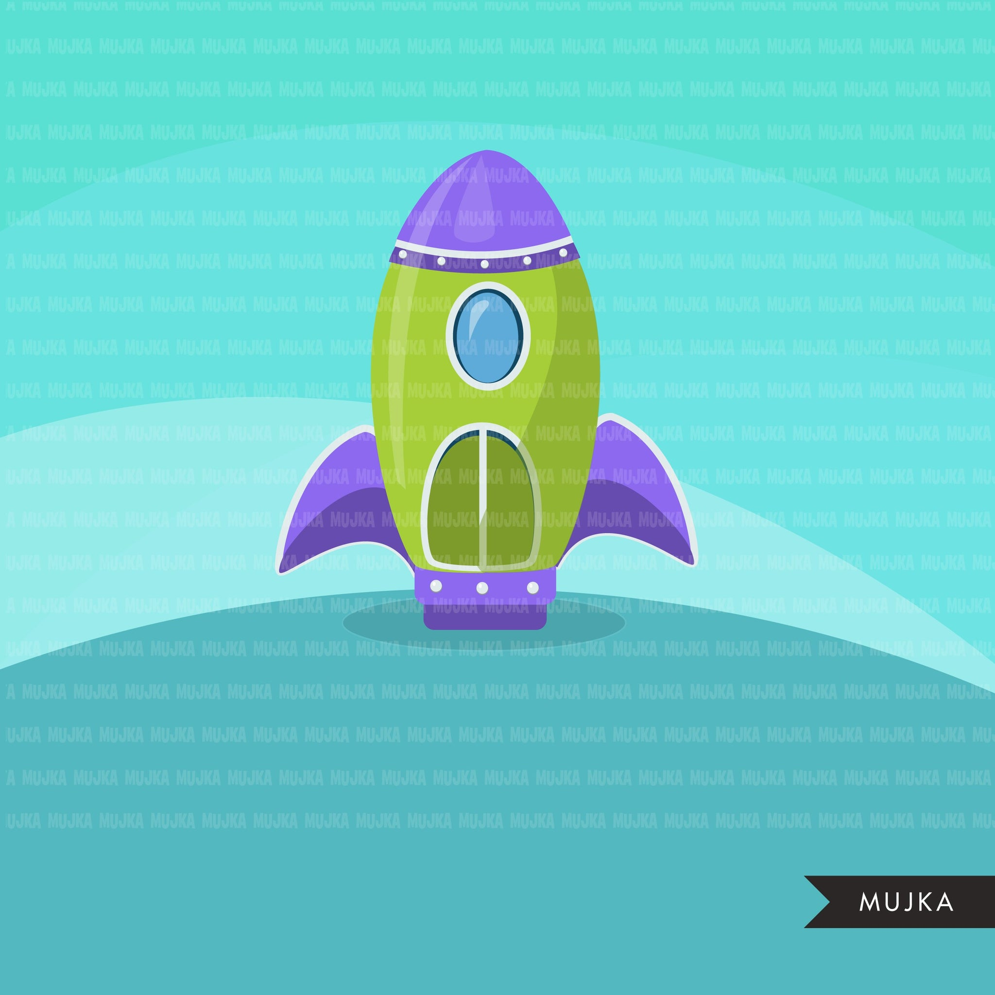 Rocket clipart, Air vehicles, space craft graphics