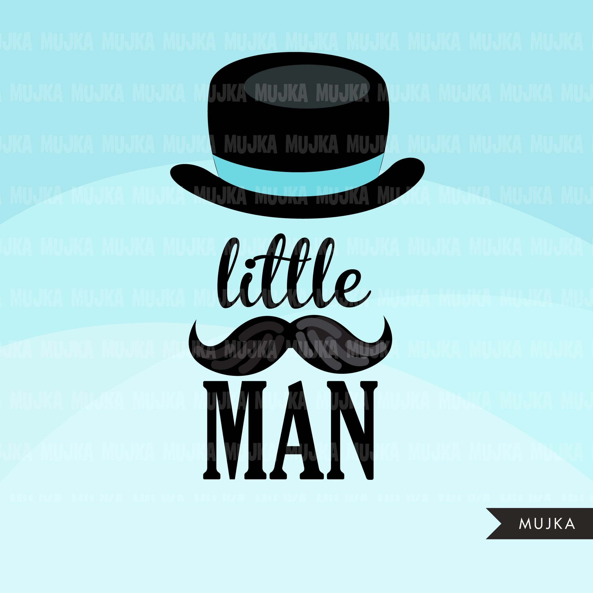 Little gentleman, little man clipart, Baby shower graphics, boys