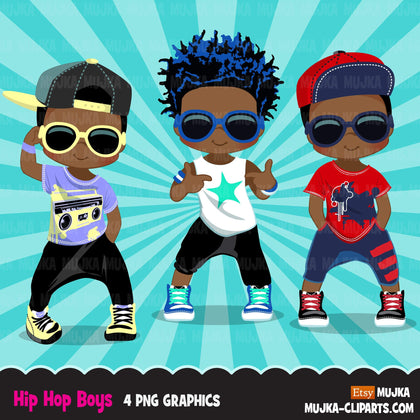 Hip hop Clipart Bundle, Music, dance sublimation t-shirt  graphics commercial use PNG clip art