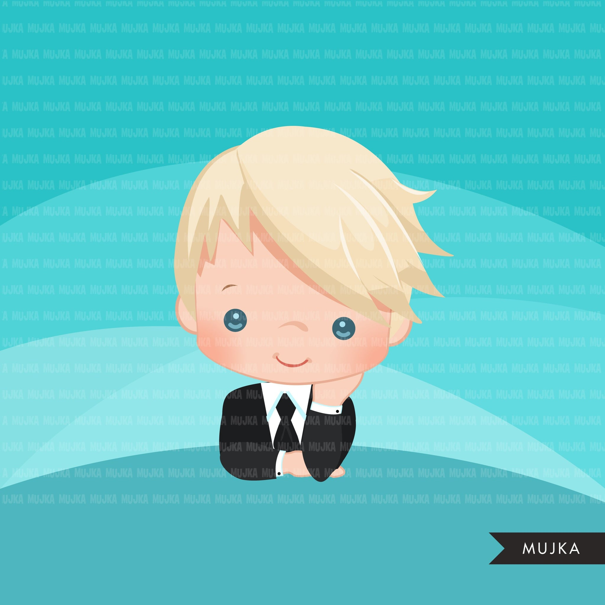 Boss baby clipart, toddler with business suit graphics, BOYS, commercial use clip art