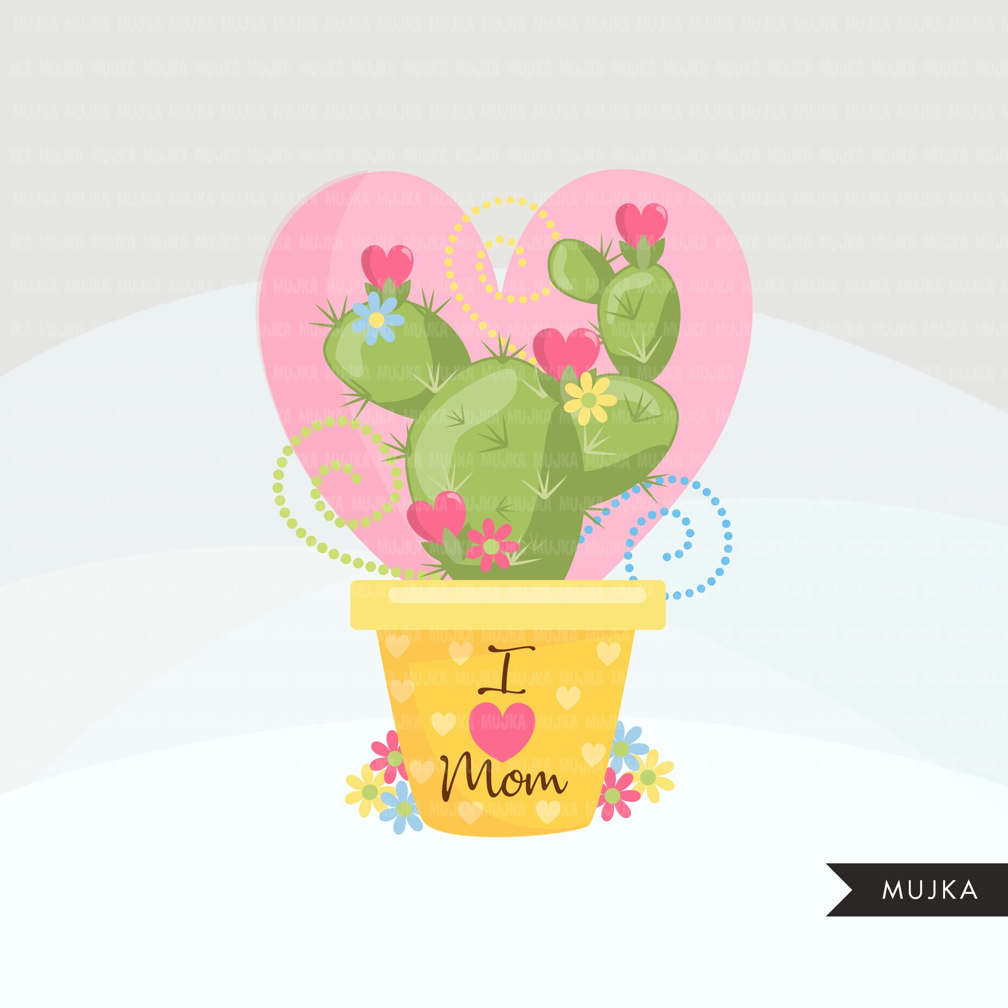 Mother's Day Clipart, floral frames, mom, mum love quotes, coffee, hearts, high heels, perfume, gift graphics, PNG clip art