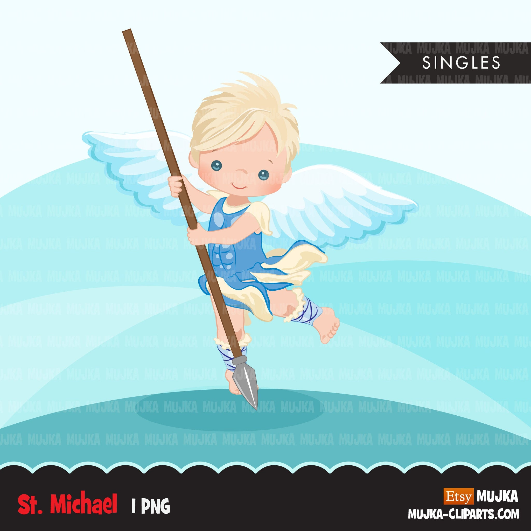 Saint Michael clipart, religious sublimation designs digital download, christian graphics, archangel designs, Christian png files for cricut