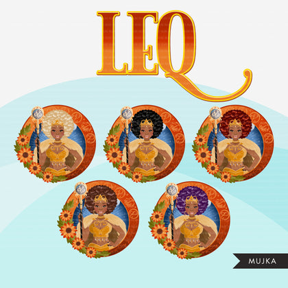 Zodiac Signs, LEO Clipart BUNDLE, Astrology designs, Horoscope graphics, sublimation designs digital download,  Png for Cricut & Cameo