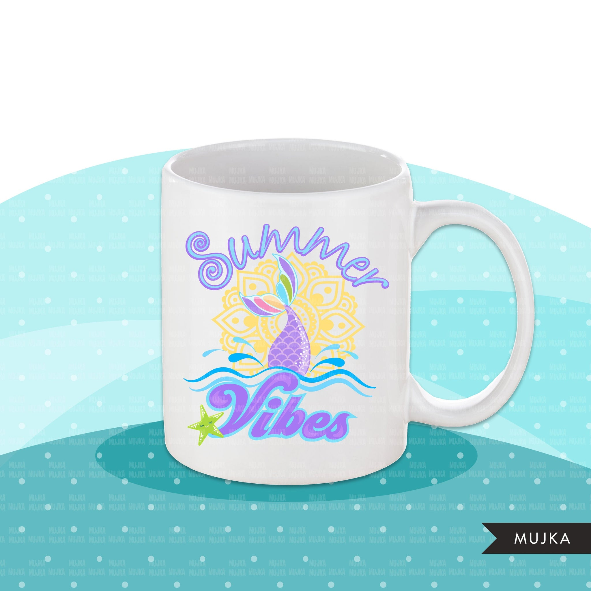 Summer vibes clipart, summer vibes sublimation designs digital download, summer vibes mermaid png, summer shirt digital download for cricut