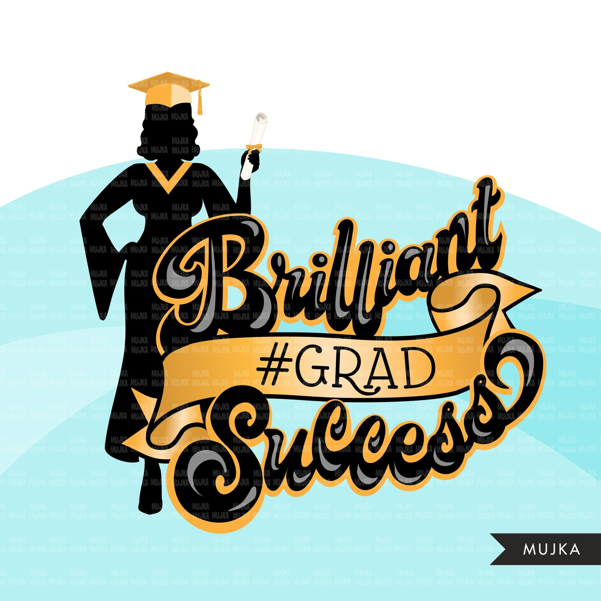 Grad Clipart, Graduation 2021 png, Brilliant grad sublimation designs digital download, class of 2021 png, graduate women school clip art graphics