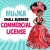Commercial License for Mujka Chic Digital Download Products