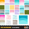 Free Backgrounds, Digital papers for Mujka cliparts