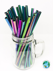HEART SHAPED RAINBOW STRAW
