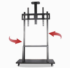 "Heavy Duty TV Cart for 40-100"" Plasma/LCD TV"