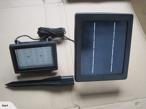 Solar Panel Power LED Garden Lawn Landscape Lamp