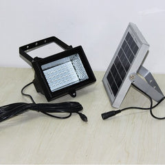 Solar Panel LED Garden Lamp Aluminum Frame