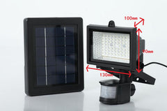 Solar Panel Power 60LED Garden Lamp-Motion Sensor
