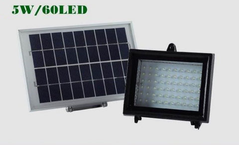 Solar Panel Power 60LED Garden Lawn Landscape Lamp