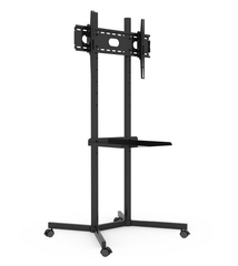 Economic Mobile TV Stand for 32-55'' TV - No Component Shelfs