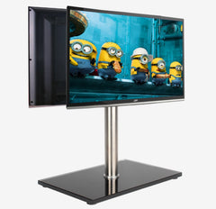 "Dual Display Desktop Computer Monitor Stand for 13""-27"""