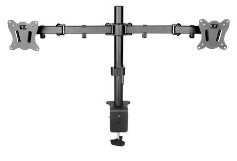 "Dual LCD Monitor Desk Mount Stand for 13""-27"""