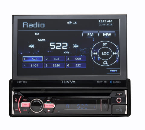KSD7875 Flip-Up Multimedia Receiver