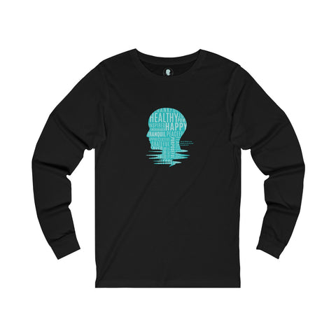 We Are What We Think Jersey Long Sleeve Tee