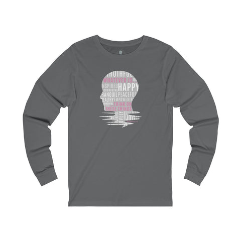 Whatever Is ... Jersey Long Sleeve Tee