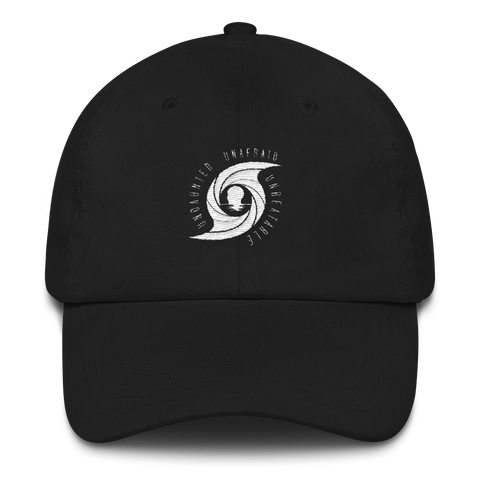 Eye of the Storm - White - Dad hat