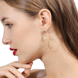 Meri - Abstract Earrings