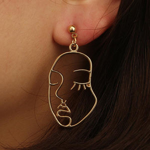 Lina- Abstract Earrings