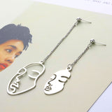 Mina- Abstract Earrings