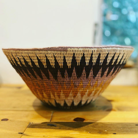 Kavango Palm Basket (New) - Small